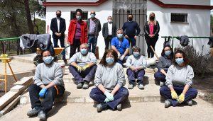 El Gobierno regional y el Ayuntamiento de Quintanar del Rey ejecutan la cubierta de la pista deportiva del IES Fernández de los Ríos