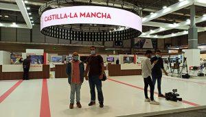 El grupo provincial de Unidas Podemos-IU visita FITUR en el Día de Guadalajara
