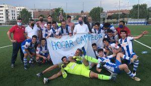 El Hogar Alcarreño logra un histórico ascenso a Tercera División tras vencer al Sporting Cabanillas