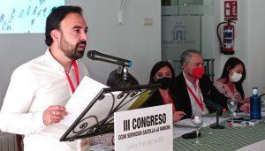 El III Congreso de CCOO-Servicios CLM renueva a Miguel Ángel Cubillo al frente de la secretaría general