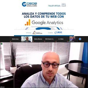 Éxito de participación en el webinar de Google Analytics una herramienta para optimar la página web de la empresa
