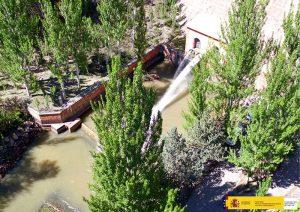 La CHJ saca a licitación pública el proyecto de mejora en las compuertas del aliviadero de la presa de Pálmaces