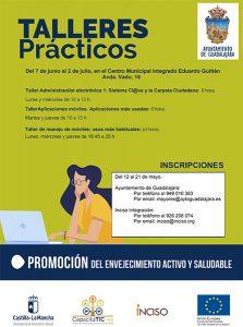 Guadalajara abre el plazo para solicitar el programa CapacitaTIC dirigido a personas mayores de 55 años