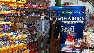 Invierte en Cuenca da la bienvenida a la instalación de dos nuevas papelerías en Tarancón