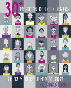La 30ª edición del Maratón de los Cuentos llenará Guadalajara de tesoros