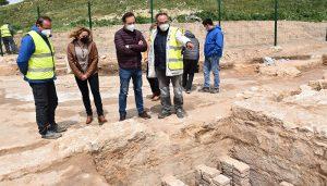 La Diputación de Cuenca está invirtiendo un total de 100.000 euros en las termas romanas de El Cañavate