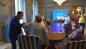 La Diputación de Cuenca y UDP presentan un proyecto para acabar con la brecha digital entre las personas mayores