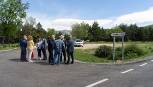 La Diputación de Guadalajara invierte 360.000 eurosen dos tramos de las carreteras de Majaelrayo y Valverde de los Arroyos