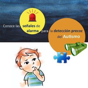 La Federación Regional de Empresarios de Centros Privados de Educación Infantil colabora con la Federación de Autismo de C-LM en su campaña dirigida a la detección precoz del autismo