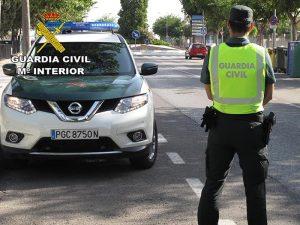 La Guardia Civil investiga al conductor de un vehículo tipo ciclomotor en Quintanar como presunto autor de un delito de lesiones por imprudencia