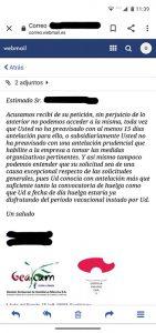 La huelga de Geacam llega a Cuenca