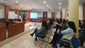La plantilla del Ayuntamiento de Cabanillas se forma en Igualdad y prevención de violencia de género