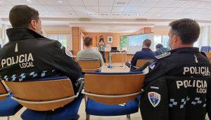 La Policía Local de Cabanillas se forma en un curso específico de prevención de la violencia machista