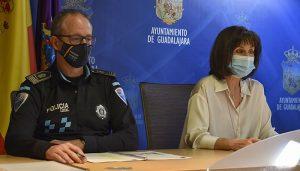 La Policía Local de Guadalajara impuso un total de 1.452 denuncias por incumplimiento de las medidas anti- COVID-19 durante el estado de alarma