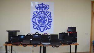 La Policía Nacional detiene a un estafador que sustrajo 23.000 euros en material informático en una tienda de Guadalajara