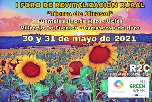 """La Red de Pueblos Proactivos organiza el I Foro de Revitalización Rural """"Tierra de Girasol"""""""