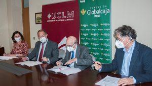 La UCLM, el Gobierno regional y la Fundación Globalcaja renuevan su alianza en apoyo del emprendimiento