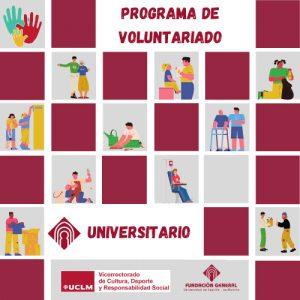 La UCLM prepara su programa de voluntariado universitario y llama a la participación de las entidades regionales