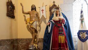La V. H. de Ntro. Señor  Jesucristo Resucitado y María Stma. del Amparo celebran sus cultos religiosos