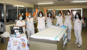 Los  profesionales sanitarios de la Gerencia del Área Integrada de Cuenca comprometidos un año más con la Higiene de Manos