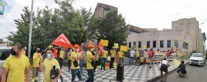 Los sindicatos estiman una participación de la huelga de GEACAM en Cuenca del 87%