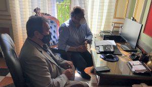 Mariano Teruel sustituye a Daniel León al frente del Consorcio de la Ciudad de Cuenca