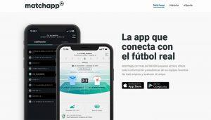 Matchapp, patrocinador oficial de la Federación de Fútbol de Castilla-La Mancha