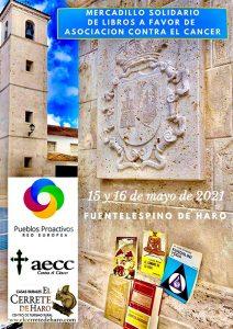 Mercadillo Solidario de Libros en Fuentelespino de Haro a beneficio de la Asociación Española Contra el Cáncer