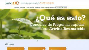 Nace 'Reto AR', un proyecto digital pionero para promover la formación de los reumatólogos