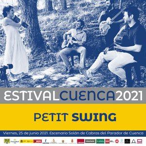 Verónica Ferreiro & Javier Sánchez y Petit Swing protagonistas musicales de las cenas-concierto de Estival Cuenca 21