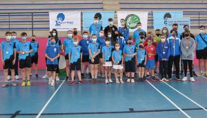 Villanueva de la Torre acoge una nueva cita con el Deporte Escolar en la modalidad de Bádminton