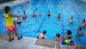 Abierta la inscripción para las actividades acuáticas de este verano en la Piscina Municipal de Cabanillas