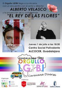 Alcocer celebrará el 'Orgullo LGTBI' con el actor Alberto Velasco