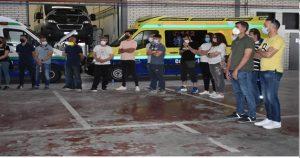 Ambulancias Cuenca UTE reitera su compromiso con la formación