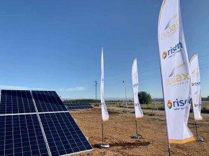 AUDAX Renovables pone en marcha las plantas fotovoltaicas Carolinas I y II en El Casar