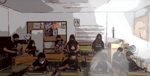Blues para despedir el curso de tres colegios de Cuenca