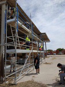 CEOE-Cepyme Cuenca y ACEM desarrollan un curso de montaje y desmontaje de andamios
