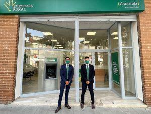 Cerca de 30.000 habitantes de Catarroja ya pueden acceder a los servicios financieros de Eurocaja Rural