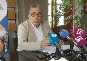 César García, presidente de UPTA CLM