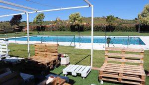 Culmina la puesta a punto de la piscina de verano de Cabanillas que abrirá el jueves 1 de julio