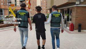 Detenidos en Guadalajara y Azuqueca tres jóvenes de la banda latina Trinitarios como presuntos autores de los delitos de lesiones graves