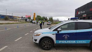 Efectivos de Policía Local de Cuenca y Agentes de Movilidad efectúan controles de alcohol y drogas esta semana