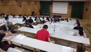 El 94,04% de los alumnos de Guadalajara que se presentaron a la EvAU en la Universidad de Alcalá ha superado el examen