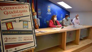 El Ayuntamiento de Guadalajara organiza una recreación teatral para conmemorar el 500 aniversario del levantamiento comunero