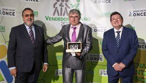 El conquense José Javier Simarro Alfaro, elegido mejor vendedor de la ONCE en Castilla-La Mancha en 2020