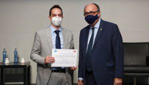 El director de la Unidad de Control Interno de la UCLM recibe el Premio Ferrán Termes 2021