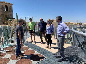 El Gobierno regional ha destinado alrededor de 95.000 euros a la rehabilitación y mejora del conjunto histórico de Castillo de Garcimuñoz