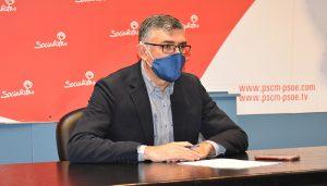 El PSOE recuerda al PP que Gobierno regional y Diputación han aportado ya 14 millones a los sectores más afectados por el Covid en Cuenca
