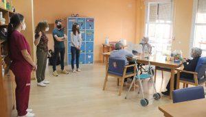 Emotivo regreso a la actividad del Servicio de Estancias Diurnas para mayores de Cabanillas