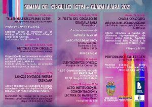 Fin de semana de Orgullo LGTBI y música, humor, y magia con el Solsticio Folk y en 'Guadalajara vive en sus plazas'